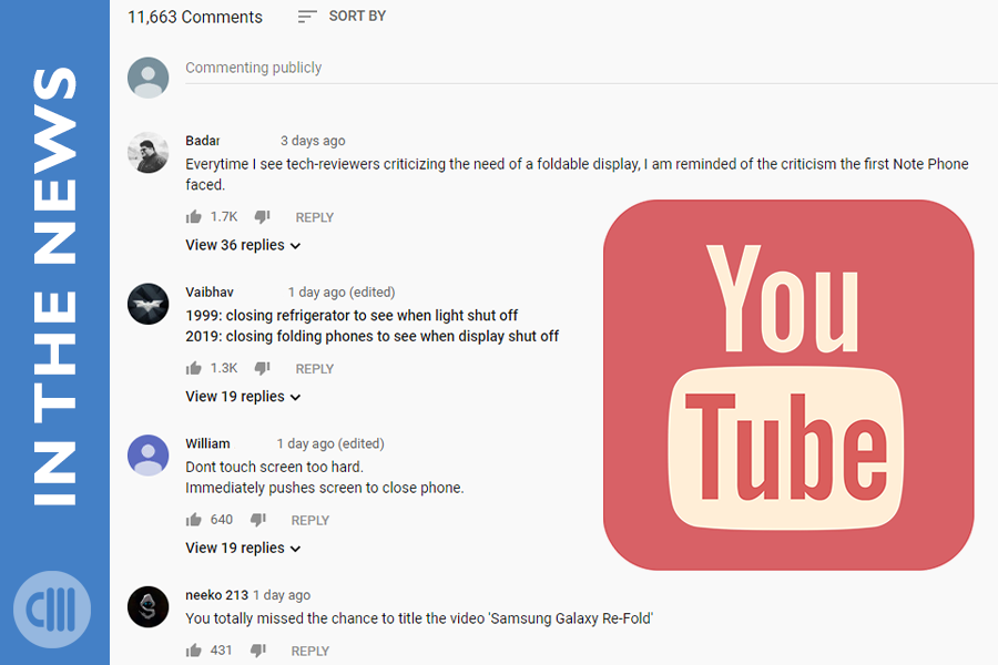 YouTube Creates Profile Cards for Commenters
